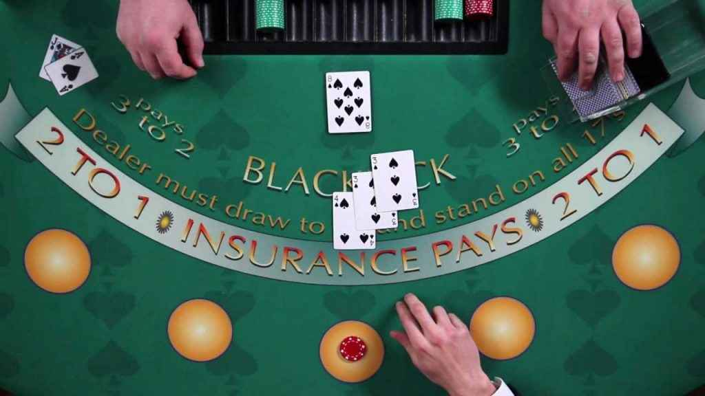 Blackjack Hand Gesture